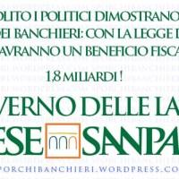 Il Governo delle larghe Intese Sanpaolo